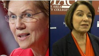 New York Times' Warren, Klobuchar endorsement jeered: 'Hurts the credibility of the paper'
