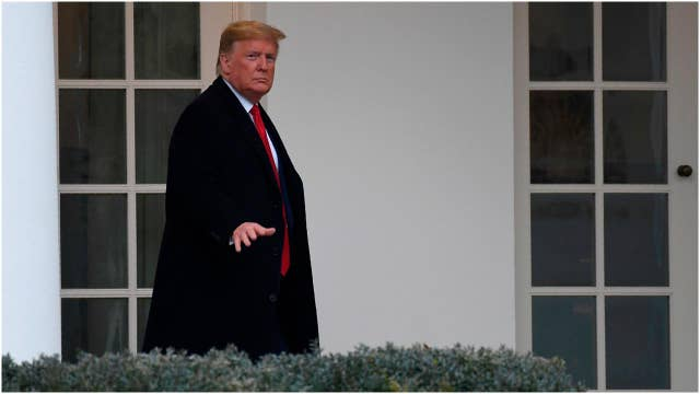 President Trump's legal team files impeachment trial brief ahead of noon deadline