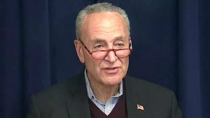 Schumer on impeachment: President Trump is afraid of the truth and probably thinks he's guilty