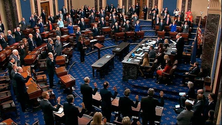 Senate debates impeachment trial parameters and witnesses
