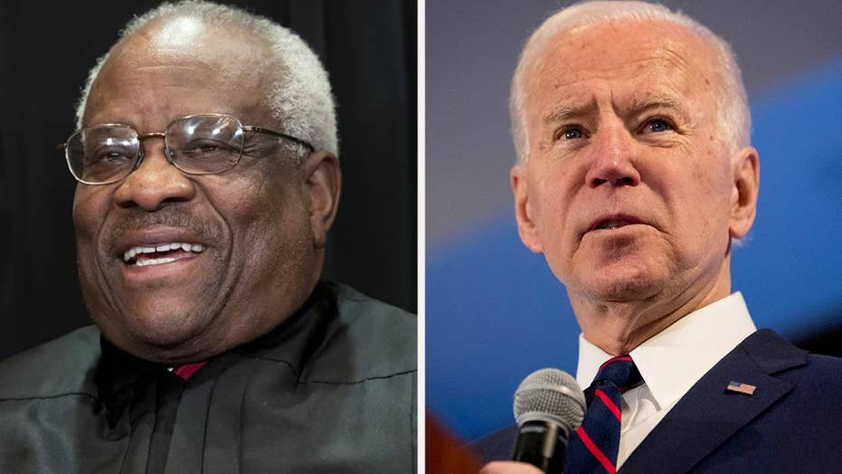 Justice Thomas criticizes Joe Biden in new documentary