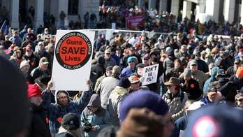 Virginia gun owners protest sweeping gun control measures