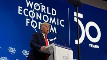 Trump in Davos: Before my presidency, the global economic outlook was weak