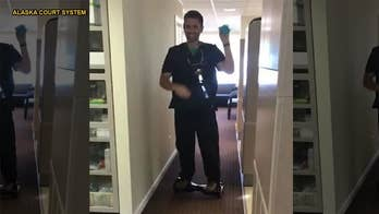 Alaska dentist filmed performing dental procedure while on hoverboard convicted on 46 charges