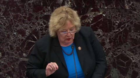 House impeachment manager Zoe Lofgren urges Senate to subpoena WH documents