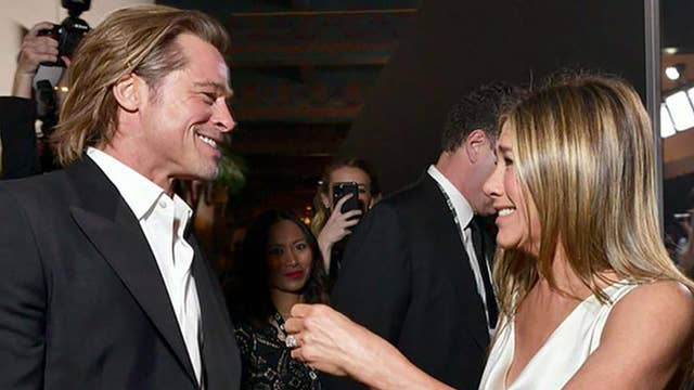 Brad Pitt, Jennifer Aniston reunite