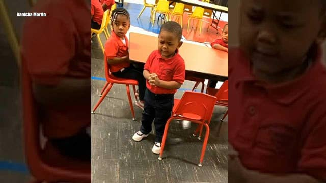 3-year-old's prayer goes viral