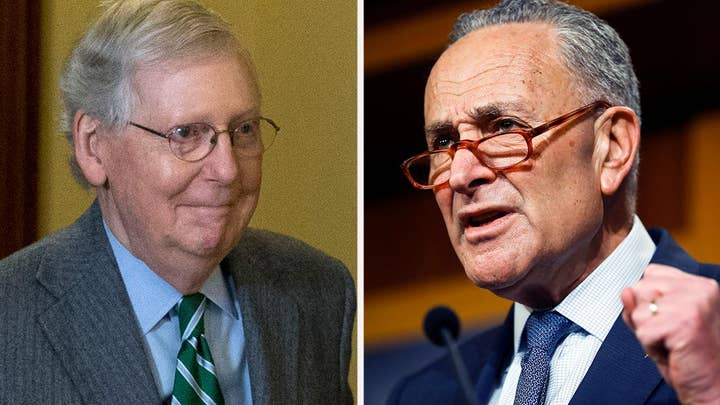 Schumer slams McConnell impeachment rules as a 'national disgrace'