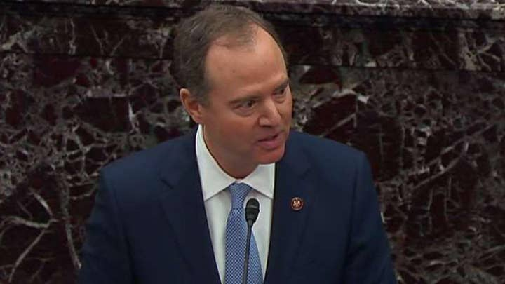 Adam Schiff urges the Senate to provide a fair trial for President Trump and the American people