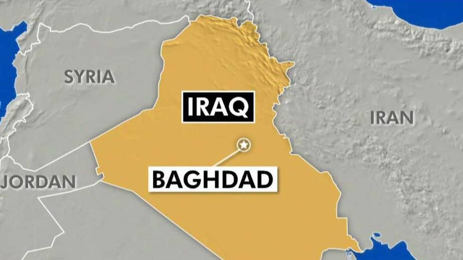 Two rockets land in Baghdad green zone amid tensions across the Middle East