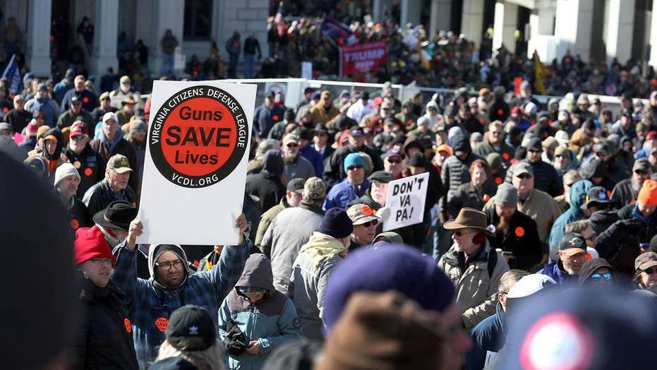 Virginia gun owners protest sweeping gun control measures