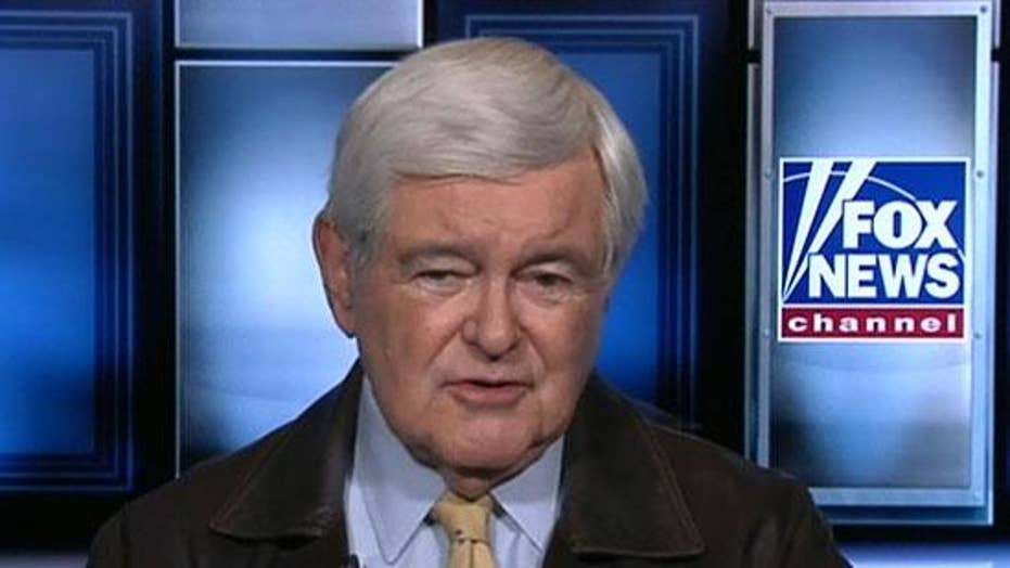 Newt Gingrich: Pelosi's impeachment 'vaccinated' Trump