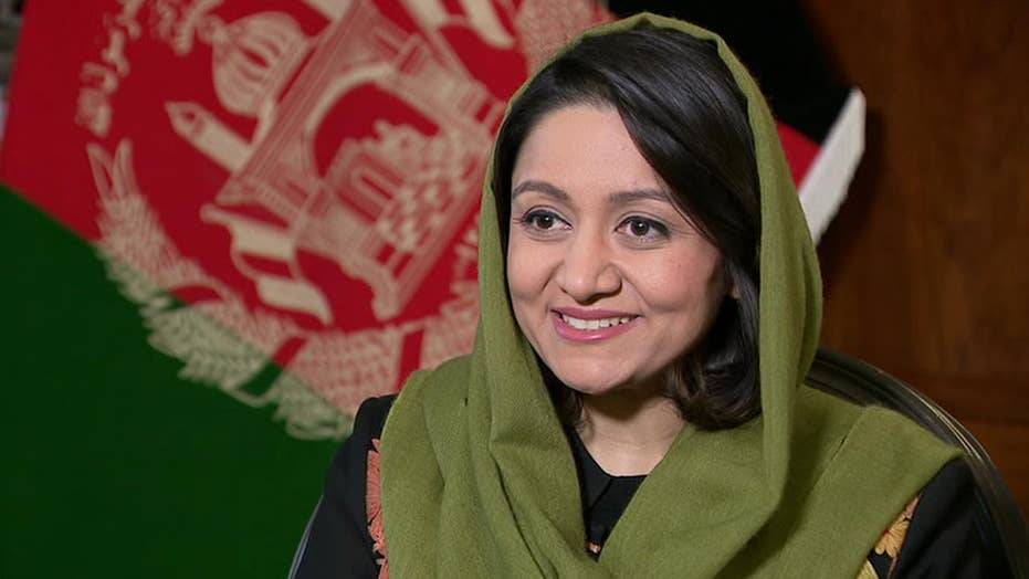 Afghanistan's first female ambassador to the US on peace talks with the Taliban