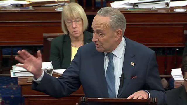 Sen. Schumer says he will 'not back off' fighting to get amendments approved