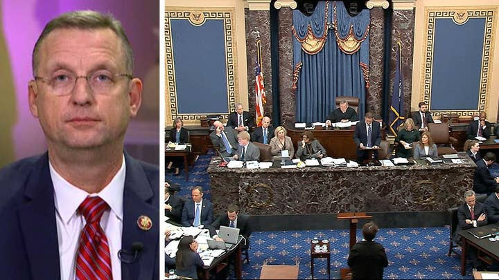 Rep. Collins calls out 'whining and theater' of Democrats during Senate trial