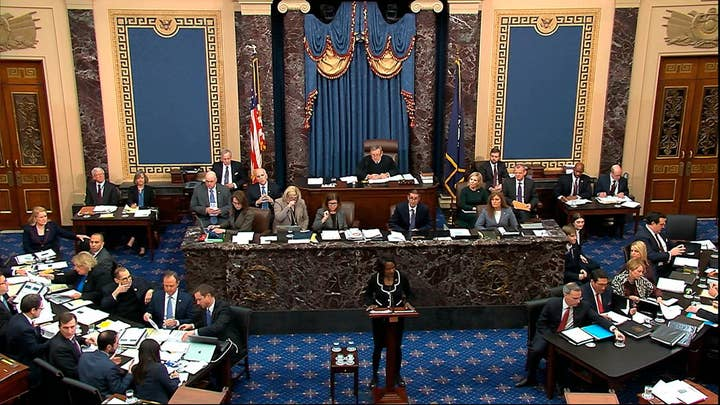 Senate debates rules, subpoenas during first day of impeachment trial