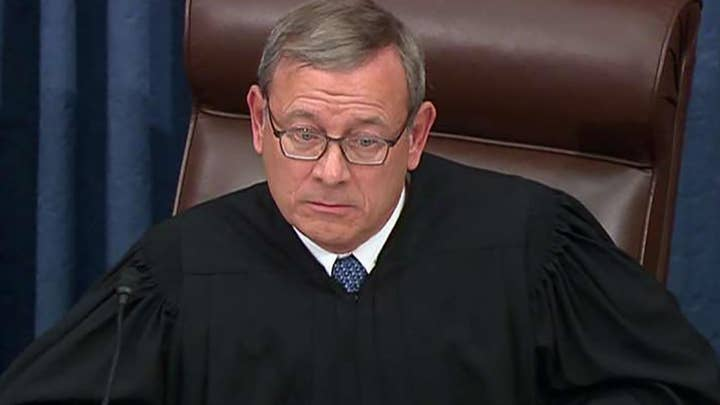 Roberts: Appropriate for me to admonish both the House managers and President Counsel
