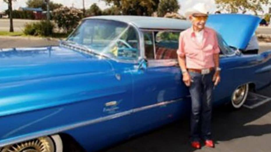 World War II vet and owner of Rita Hayworth car gets it back after thieves steal it