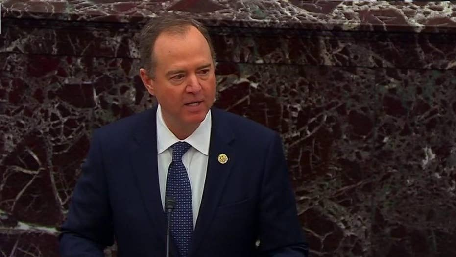 Lead House impeachment manager Adam Schiff lays out charges against President Trump