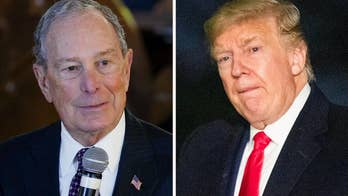 Bloomberg campaign targets Trump's relationship with the military