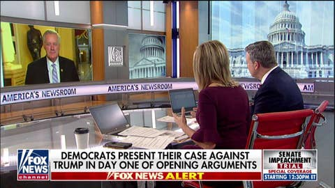 Meadows: Dems 'intentionally misleading the American people' at impeachment trial