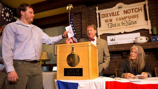 New Hampshire's midnight voting tradition at Dixville Notch is back on