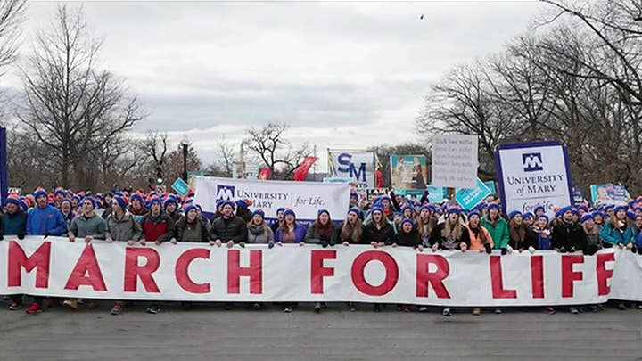 Trump's historic March for Life participation praised by organizers, slammed by pro-choice advocates