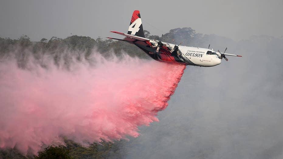 3 American firefighters killed in plane crash while battling Australia bushfires