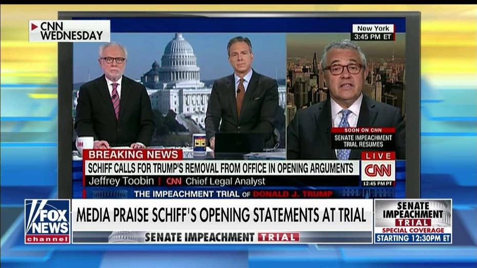 Media heap praise on Adam Schiff's impeachment argument: 'It was dazzling'