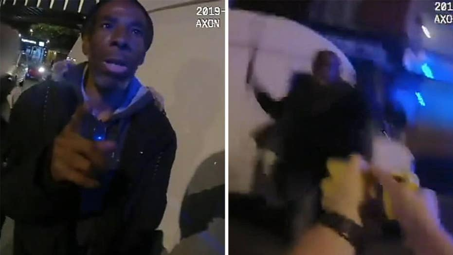 Warning, graphic video: UK police release body cam footage from 2019 machete attack on officer