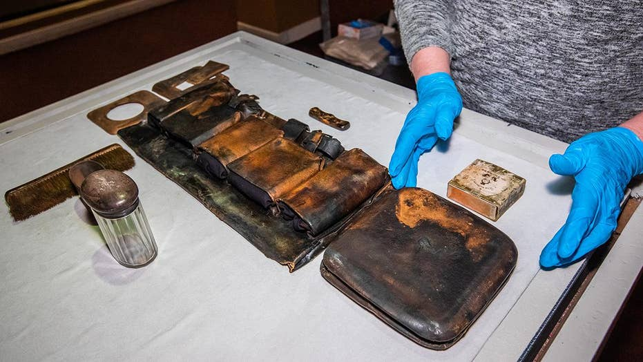 Titanic museum unveils never-before-seen artifacts in Las Vegas