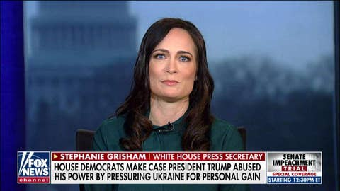 Stephanie Grisham calls out yet another Adam Schiff 'lie' about the president