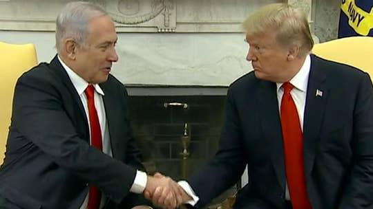 Trump may release Mideast peace proposal ahead of meeting with Netanyahu, Gantz