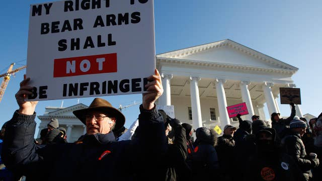 Virginia gun control debate could push some counties to join West Virginia