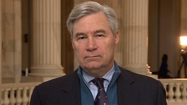 Sen. Whitehouse on the Democrats defending Biden's actions in Ukraine