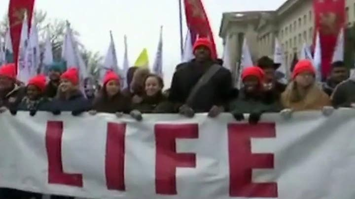 Security tight at March for Life rally ahead of President Trump's historic appearance