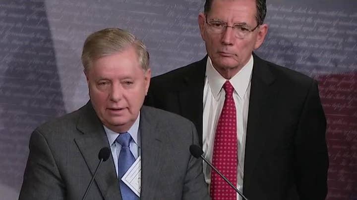 Sen. Lindsey Graham vows to look at Hunter and Joe Biden's Ukraine connections