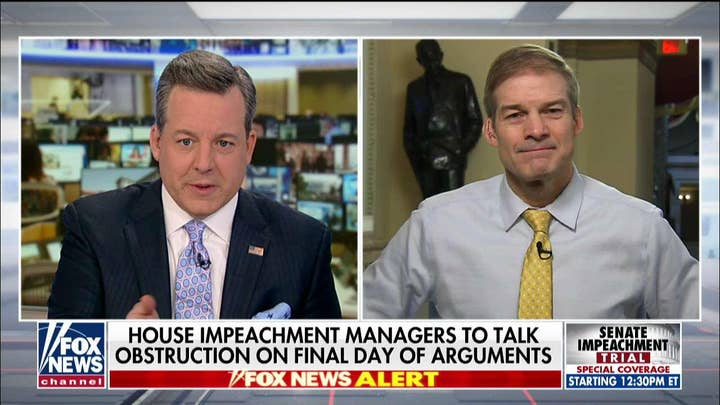 Jim Jordan: 'Interesting' to hear Adam Schiff talking about 'truth' after his past claims