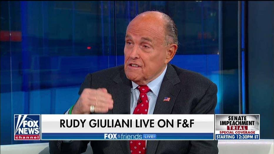 Rudy Giuliani teases release of new Ukraine-Biden evidence