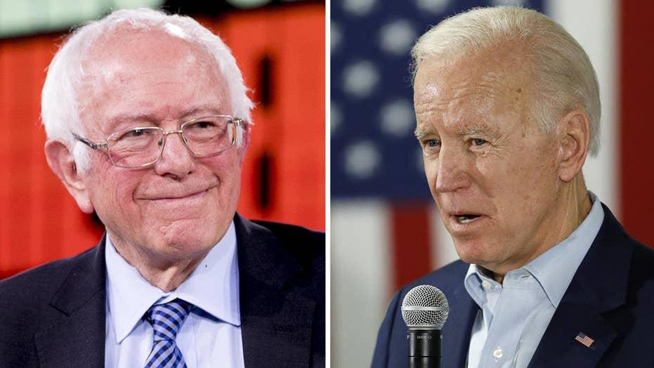 Biden, Sanders pull away from 2020 Democrat pack in new poll