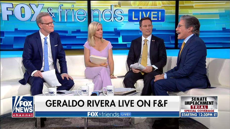 Geraldo Rivera: 'Makes me puke' when Democrats claim impeachment was 'solemn'