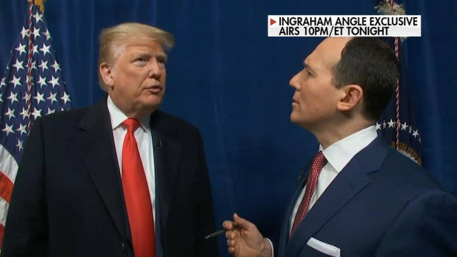 President Trump tells Fox News that he has the right to hire and fire ambassadors