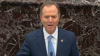 Media fawns over Schiff during impeachment arguments