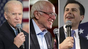 Democrat frontrunners remain locked in tight race in Iowa