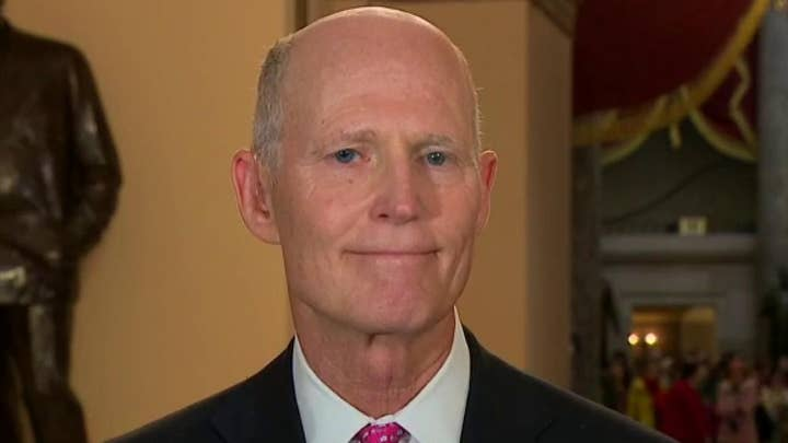 Sen. Rick Scott: Adam Schiff got kneecapped, there was no quid pro quo or obstruction of justice