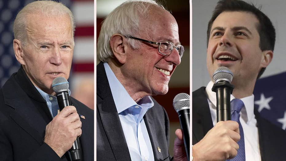 Democrat frontrunners remain locked in tight race in Iowa
