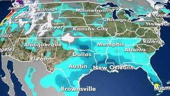 National forecast for Sunday, January 26