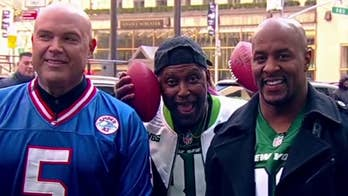 'Fox and Friends' hosts vs. former NFL players in Super Bowl challenge!