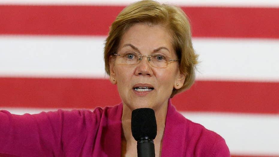 Elizabeth Warren holds town hall event in Iowa