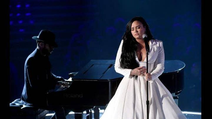 Grammys 2020: Demi Lovato performs emotional comeback song 'Anyone'